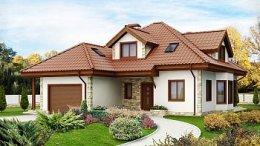будинок з еркером проект