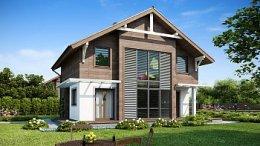 проект будинку з еркером